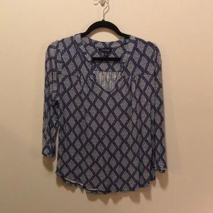 Lucky Brand v-neck blouse